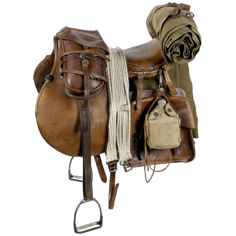 US Model 1936 Phillips Officer's Saddle | Cowan's Auction ...